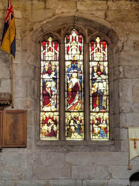 Stained Glass Window, St Leonard's Church