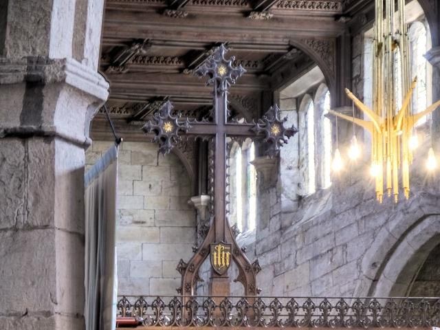 Rood Cross, St Leonard's Church, Middleton