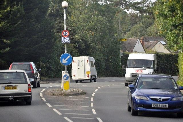 Tiverton : Exeter Road