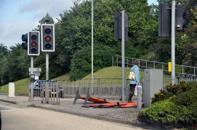 Tiverton : Pedestrian Crossing