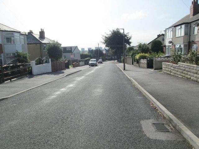 Gipton Wood Avenue - looking towards Easterly Avenue