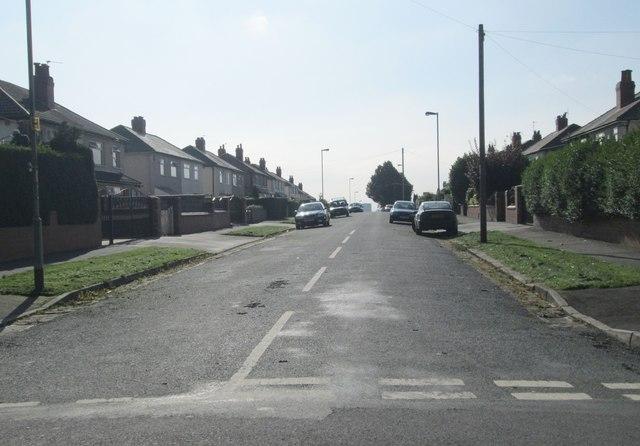 Gipton Wood Road - Copgrove Road