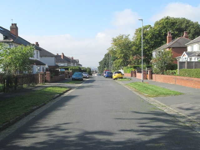 Copgrove Road - viewed from Hetton Road
