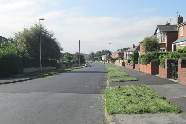 Arlington Road - viewed from Hetton Road