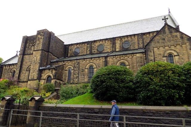 Holy Trinity Church on Burnley Road