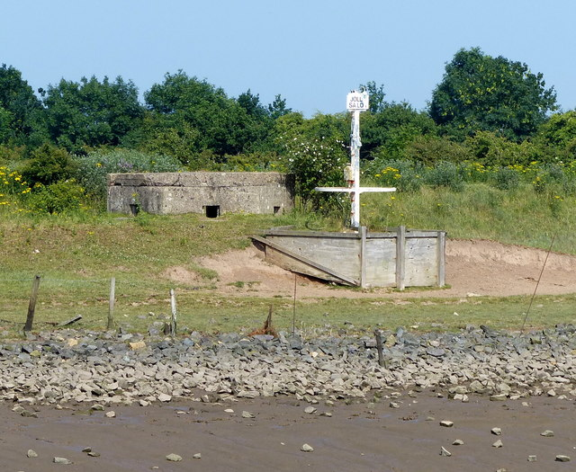 Pillbox along The Haven