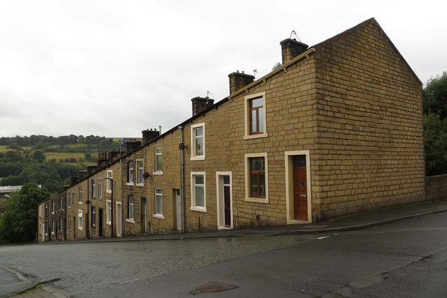 Terraced houses on Duke Street