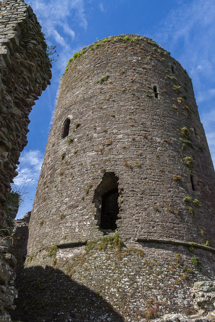 Tower of Tretower Castle