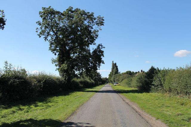 Lane at Thompson's Bottom