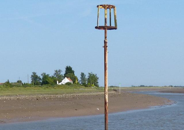 Navigation marker along The Haven