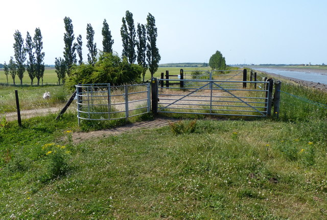 Gates along the Macmillan Way footpath