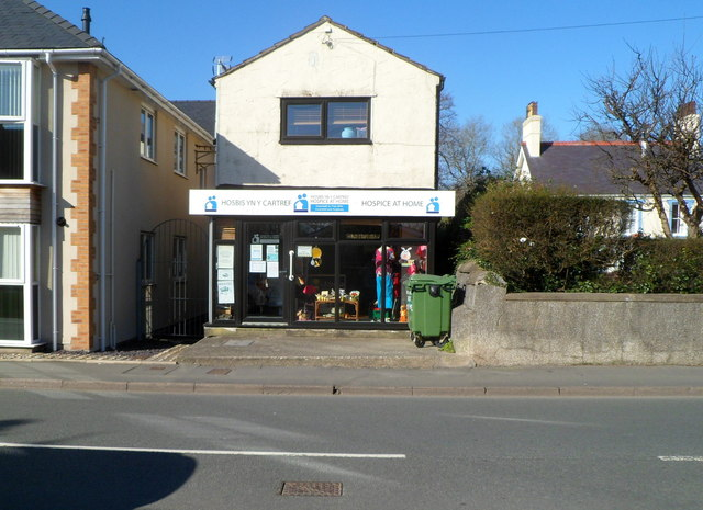 Hospice at Home charity shop, Llanfairpwllgwyngyll