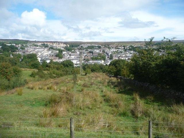View over Blaenavon