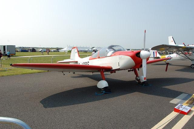 Piel Emeraude CP-30 G-ARRS at Waddington