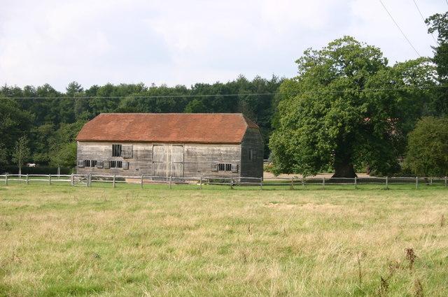 A barn near Chestnut Tree House