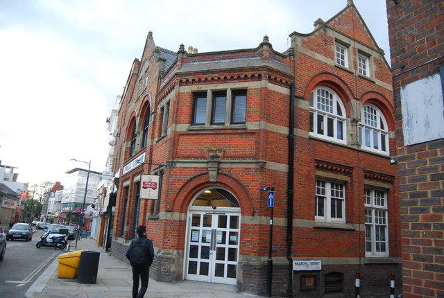 Gipsy Hill library