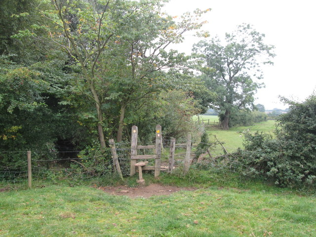 Stile on the Dearne Way