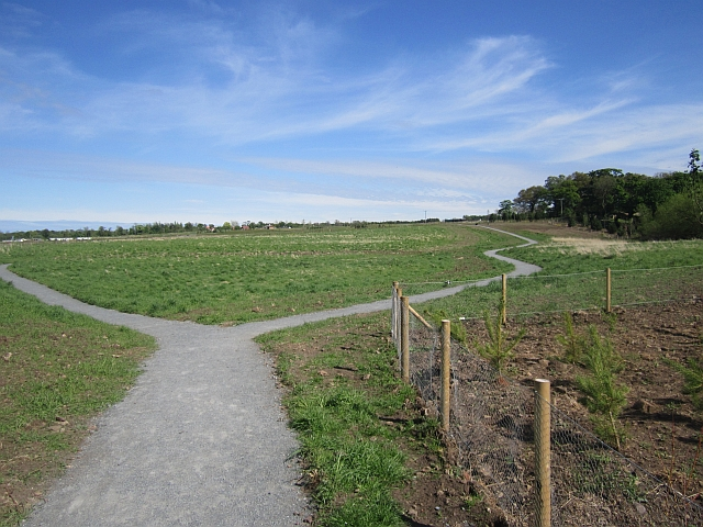New paths, Port Seton