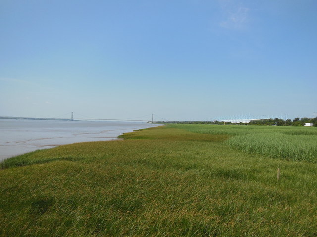 The River Humber Foreshore towards Hessle