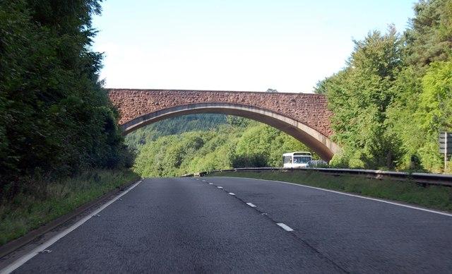 A40 road bridge