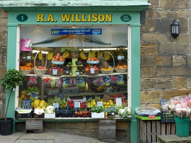 Fruiterer's Shop, Whitby