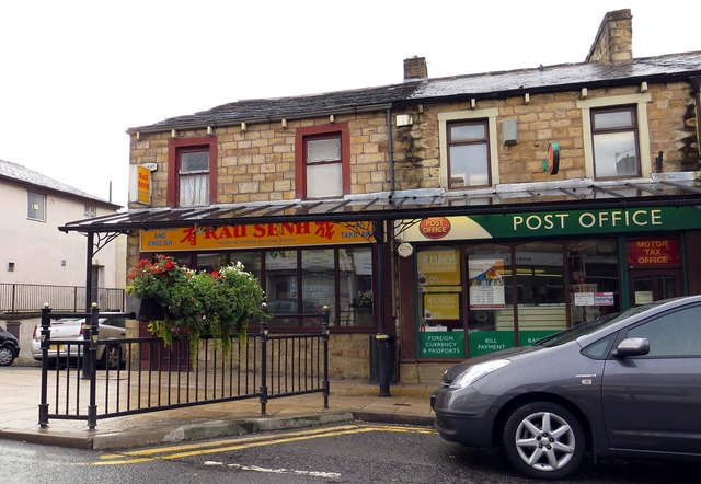 Takeaway and Post Office on Colne Road