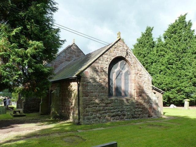 St. Edith's church, Shocklach