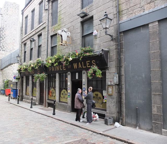 The Prince of Wales, St Nicholas Lane, Aberdeen