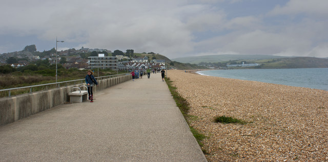 The promenade at Preston