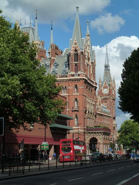 St Pancras Station & hotel