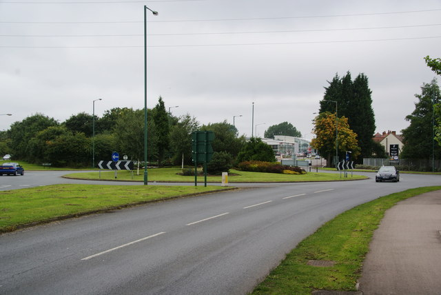 The A34 at Monkspath