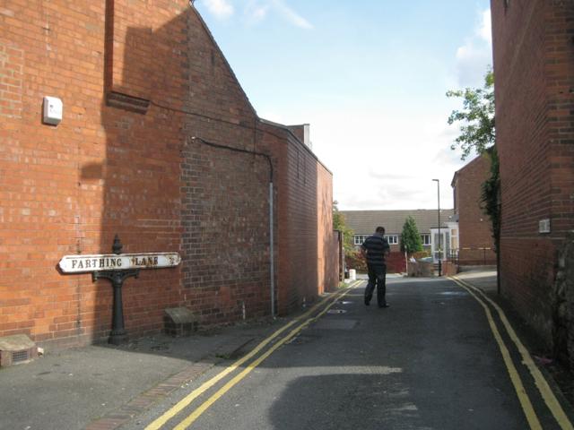 Farthing Lane off Birmingham Road