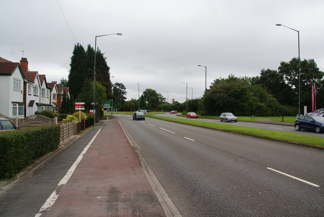 The A34 near Monkspath