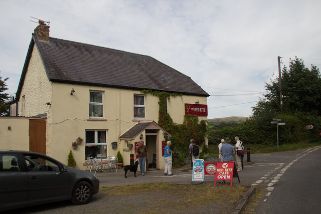 The Red Kite Cafe, Llanddeusant