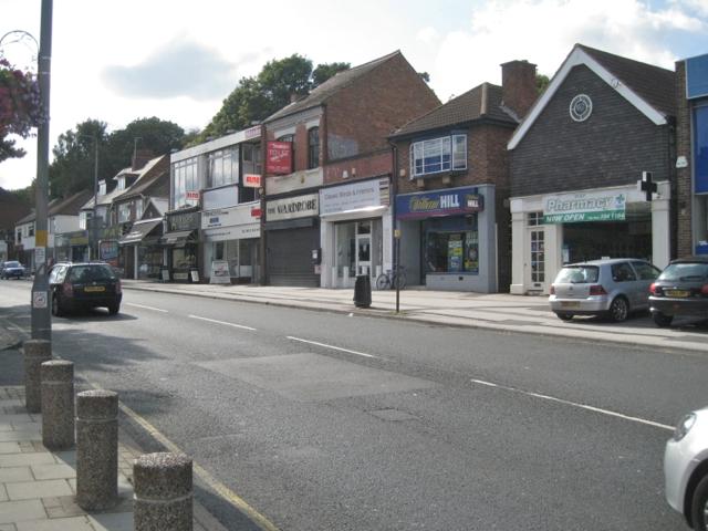 Mixed shops, Birmingham Road