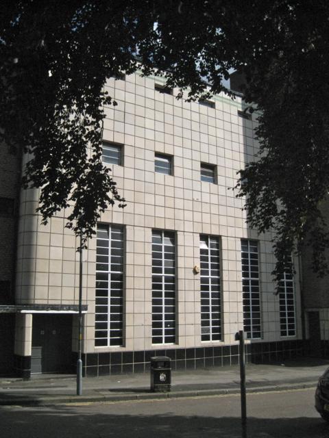Tiled facade, Empire Cinema, Maney Corner