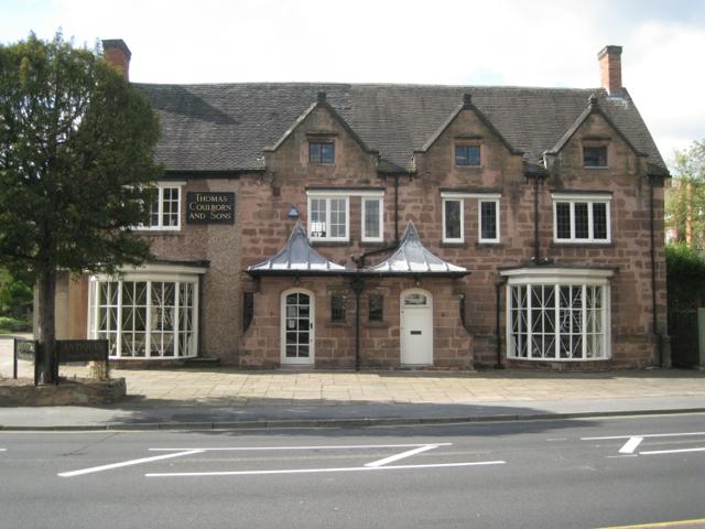 Antiques showroom, Birmingham Road