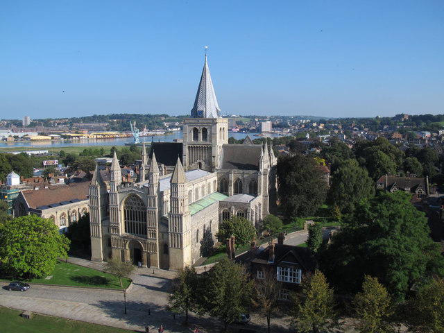 Rochester Cathedral: overall view