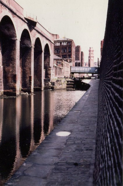 Manchester: Rochdale Canal, 1983
