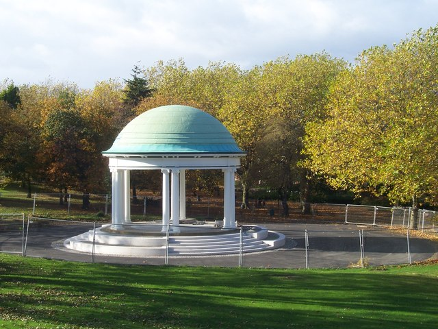 Clifton Park bandstand