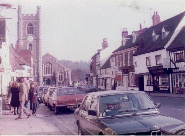 Hart Street, Henley on Thames, 1983