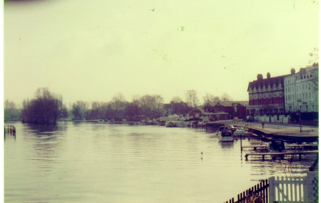 The River Thames at Henley, 1983
