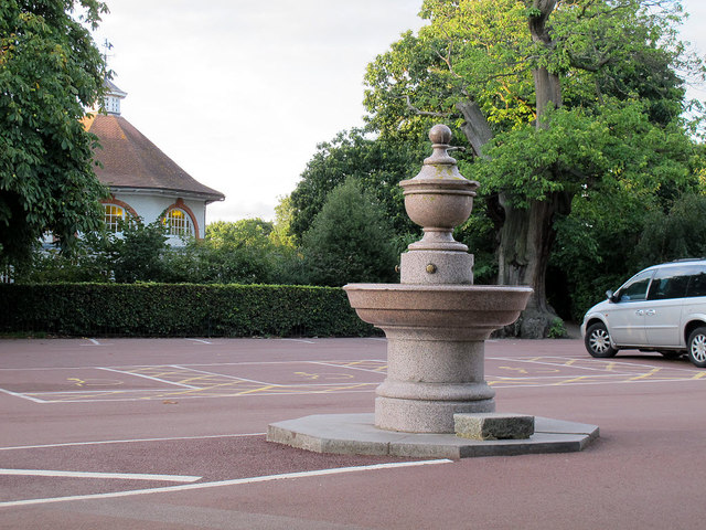 Old drinking fountain in Greenwich Park