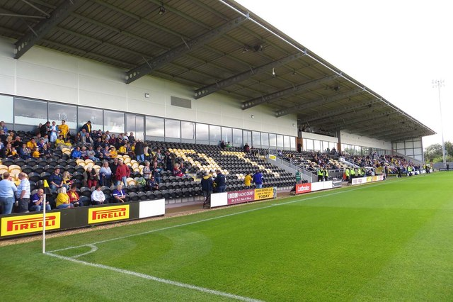 The Main Stand at the Pirelli Stadium