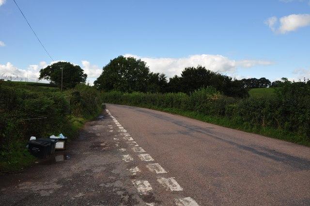 Mid Devon : Country Road