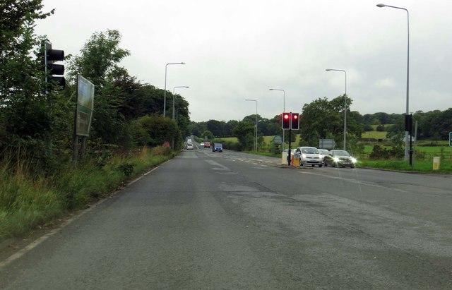 Preston New Road out of Blackburn