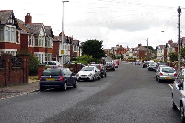 Warley Road in Blackpool