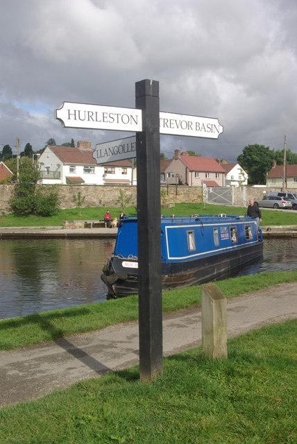 Llangollen Canal, Trevor