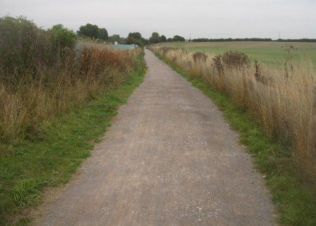 Path towards Basingstoke