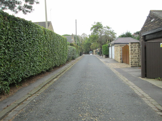 Back Wetherby Road - looking towards Oakwood Lane